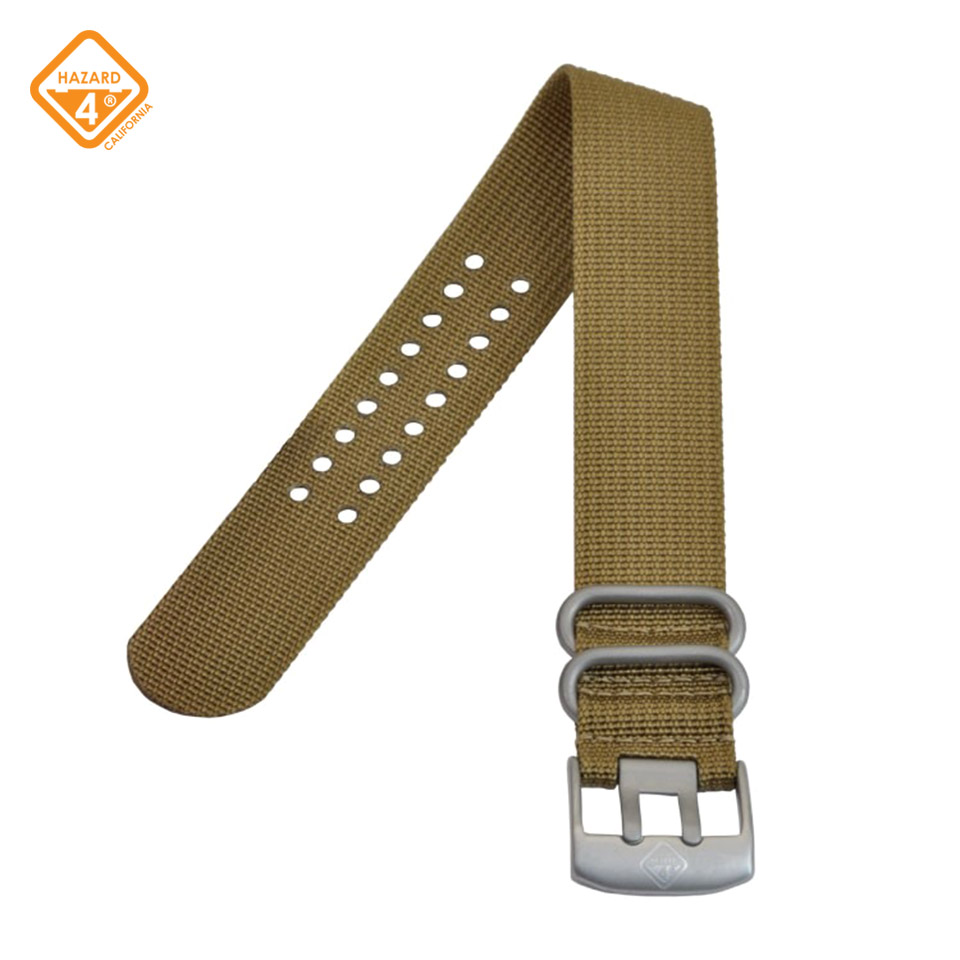 NATO - 24mm nylon watch band Stainless Steel Buckle