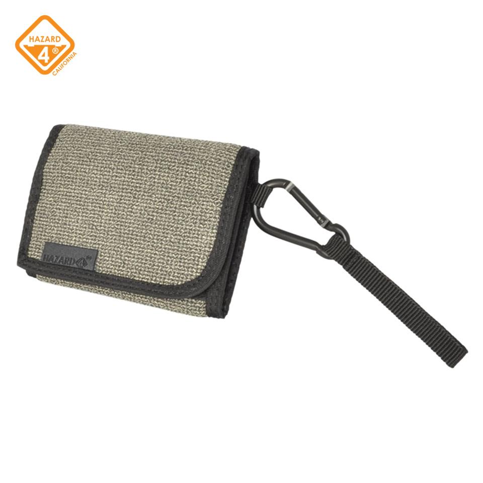 Wafer Slim Carabiner Wallet by Hazard 4