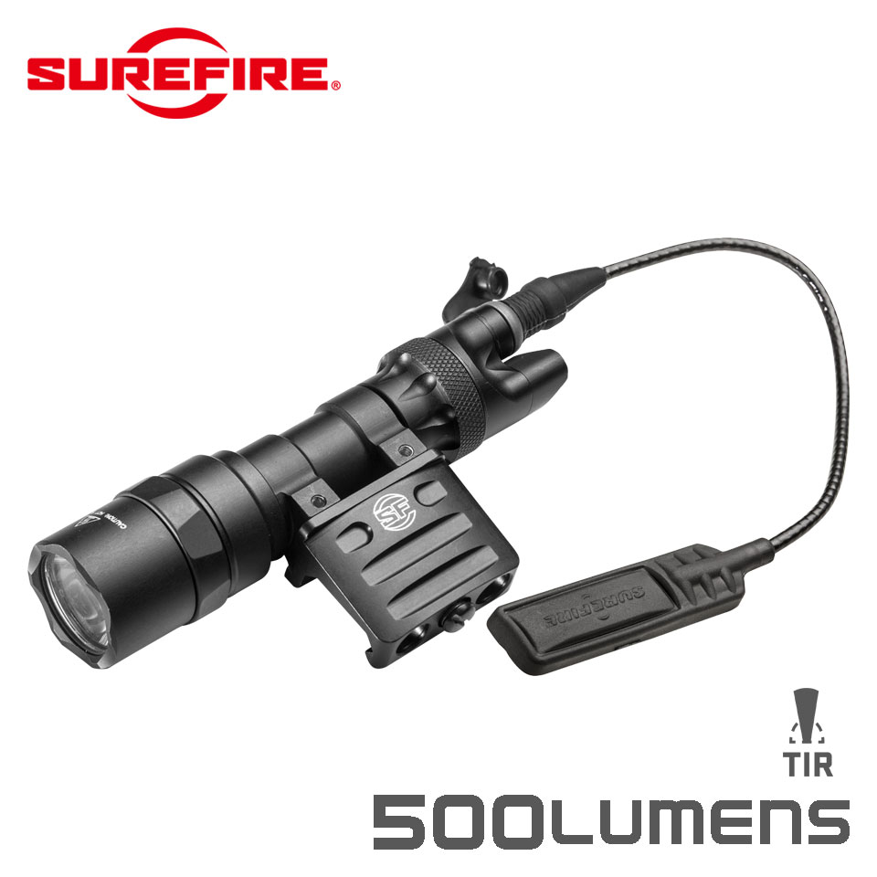 M312 SCOUT LIGHT - 3 Volt Scout Light with DS07 Switch Assembly and RM45 Off Set Mount