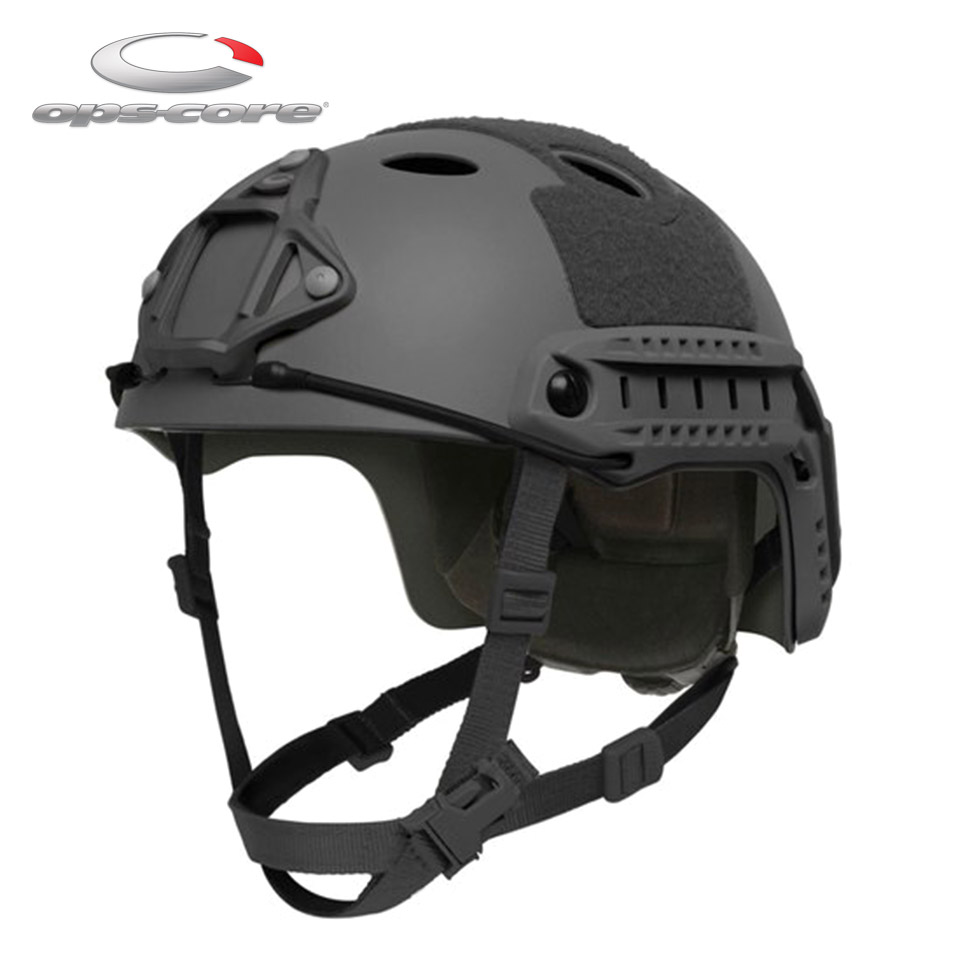 FAST CARBON HIGH CUT HELMET - BLACK