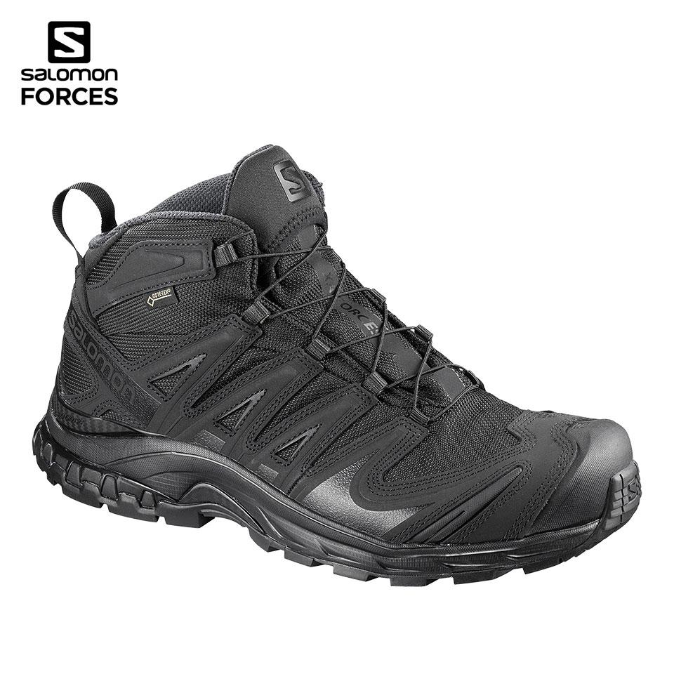 XA FORCES MID GTX - BLACK   BLACK   BLACK