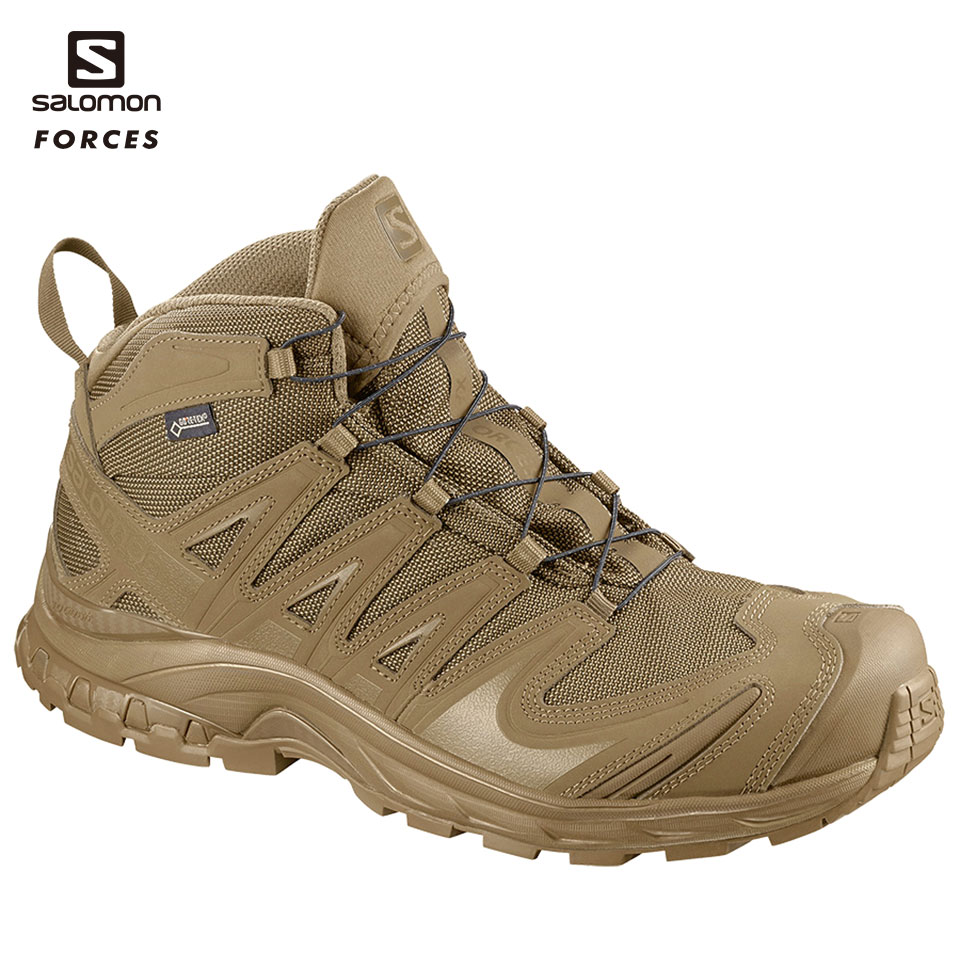XA FORCES MID GTX - COYOTE | COYOTE | COYOTE