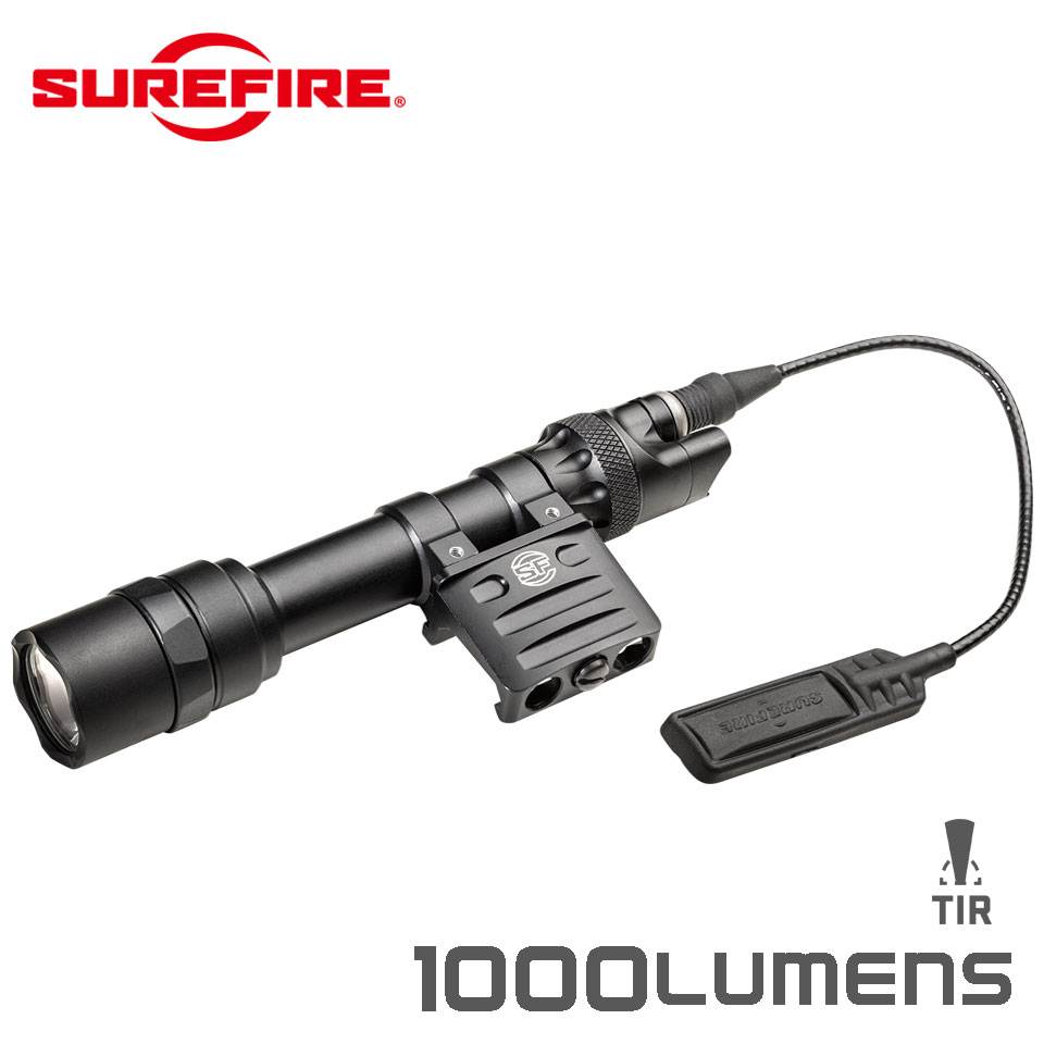 M612 ULTRA SCOUT LIGHT - 6 Volt Scout Light with DS07 Switch Assembly and RM45 Offset Mount