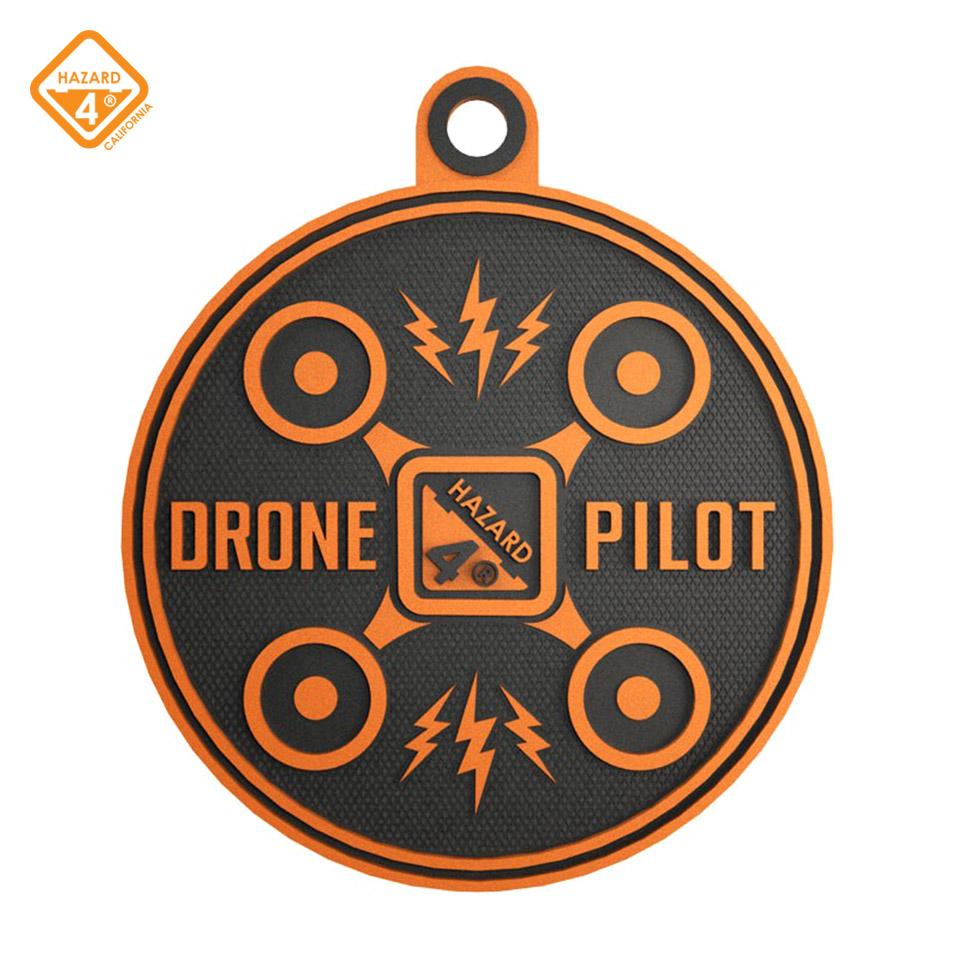 Drone Pilot - rubber velcro patch