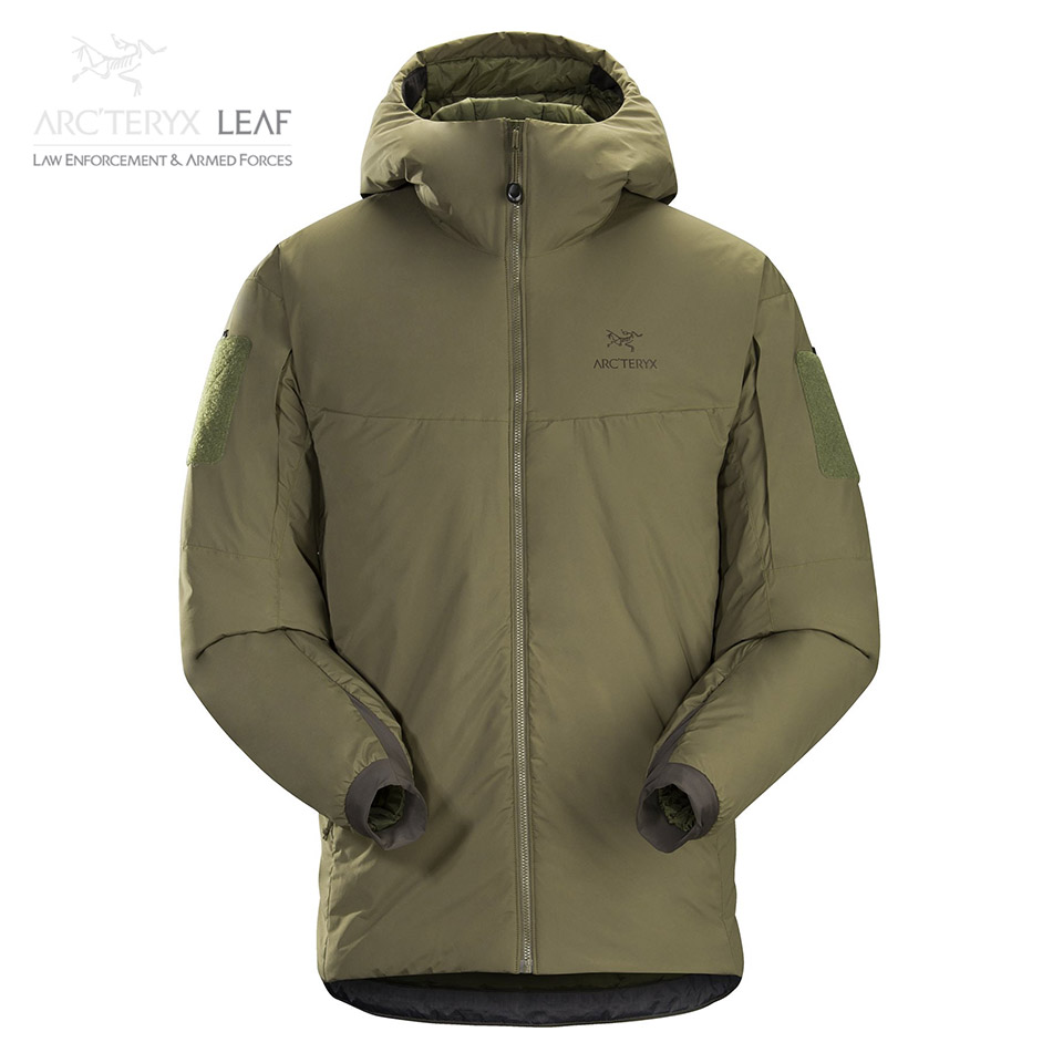 COLD WX HOODY LT MEN'S - Ranger Green