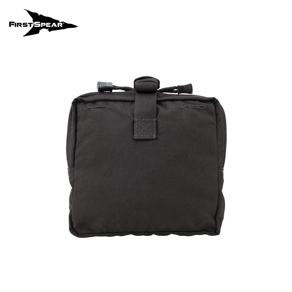 General Purpose Pocket, Large 6/12 - Black