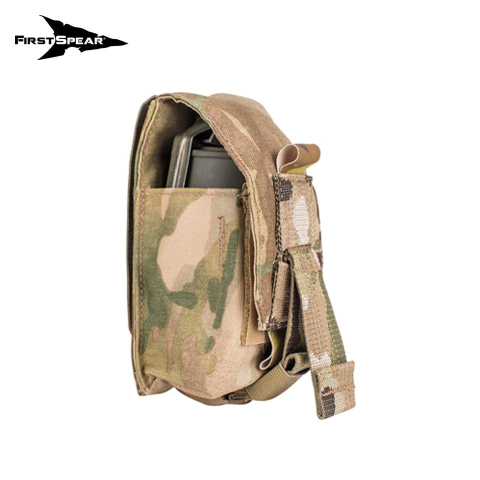 Silent Smoke Grenade Pocket, Single 6/9