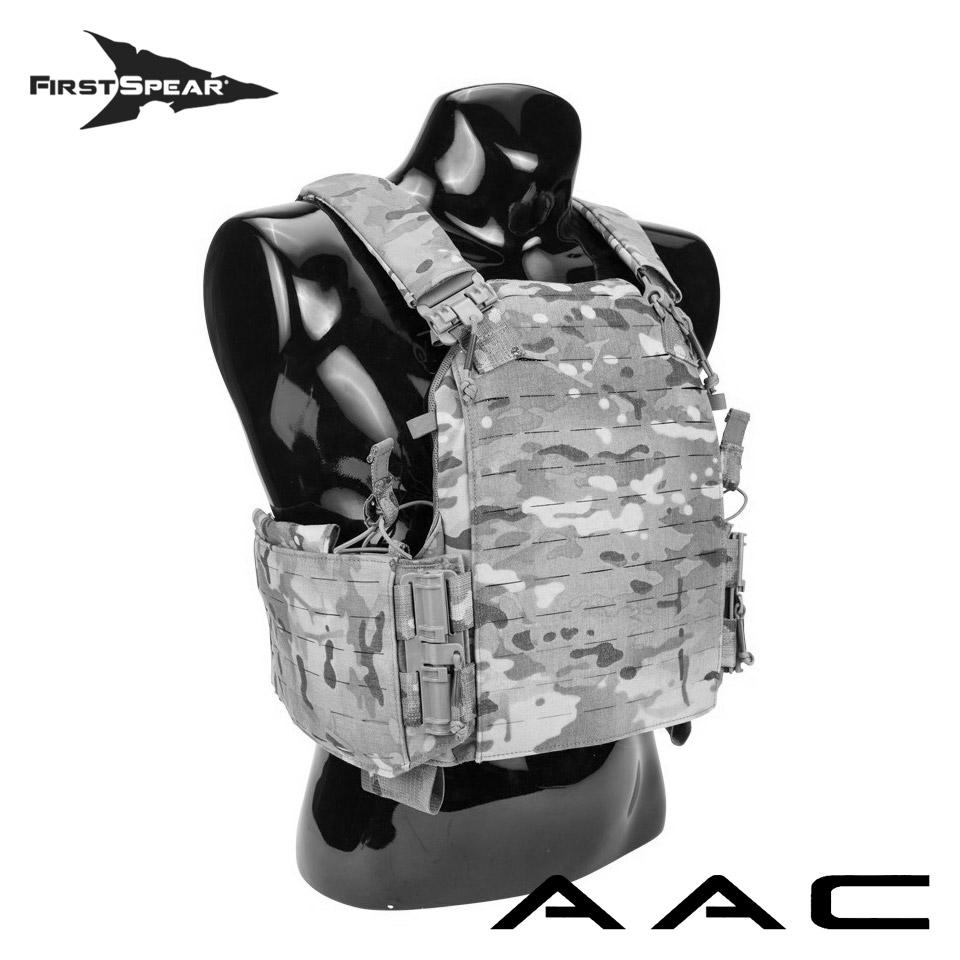 Assaulter Armor Carrier (AAC) - 6/12 Modular Back SAPI Cut
