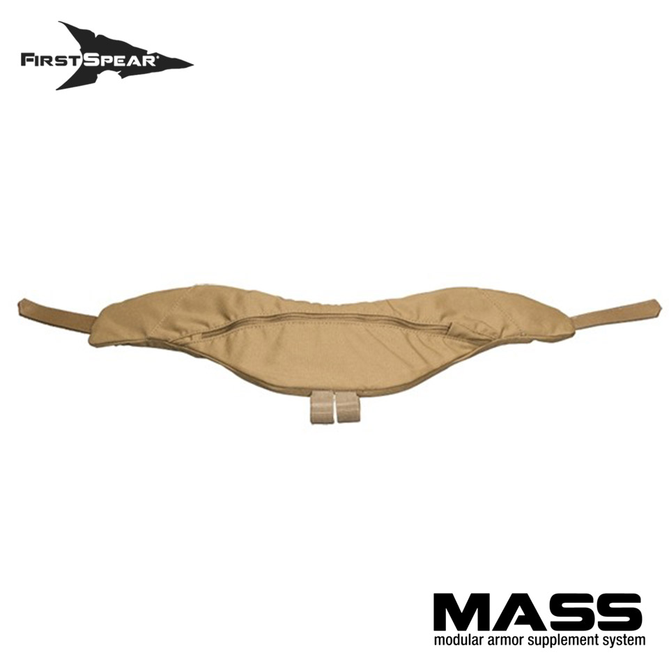 M.A.S.S. Modular Armor Supplement System - Throat Guard Non-Armor