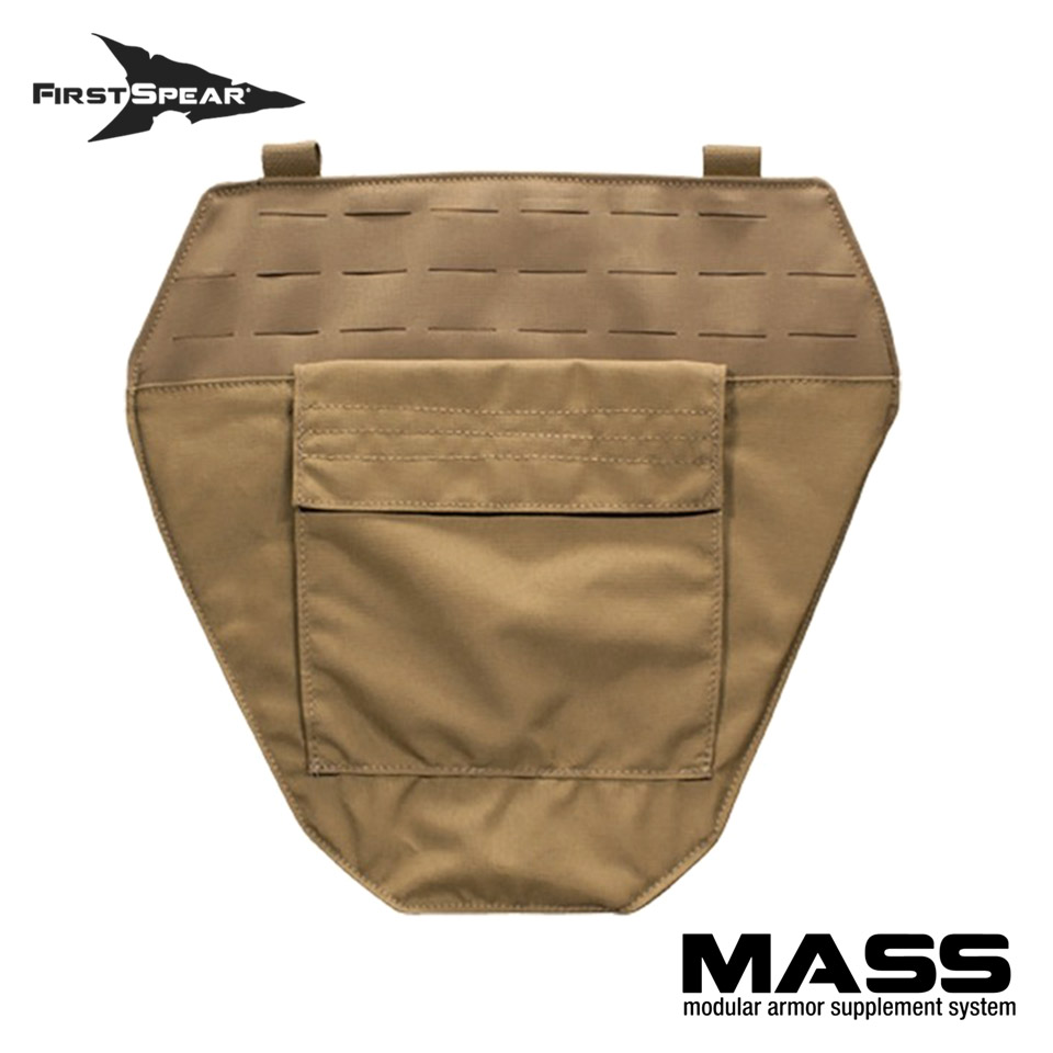 M.A.S.S. Modular Armor Supplement System - Groin Protector Non-Armor