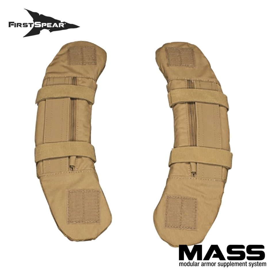M.A.S.S. Modular Armor Supplement System - Shoulder Pads Non-Armor