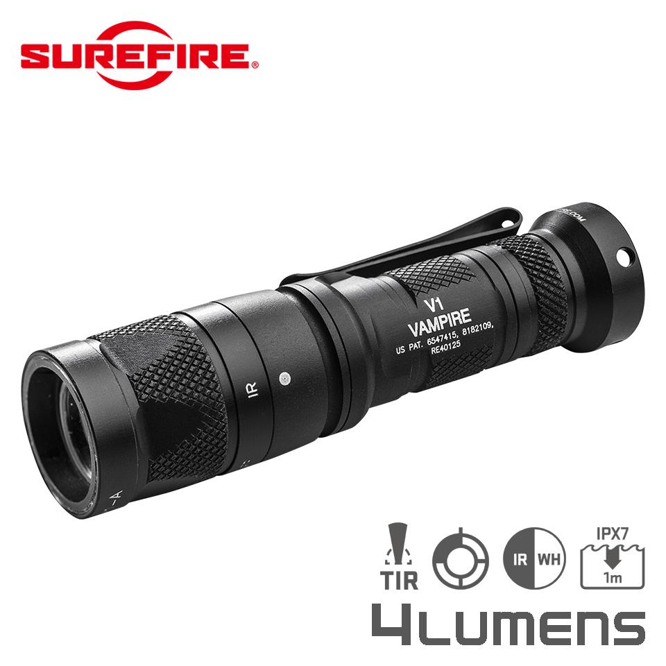 V1-C VAMPIRE - IR / Red Dual-Output LED Flashlight