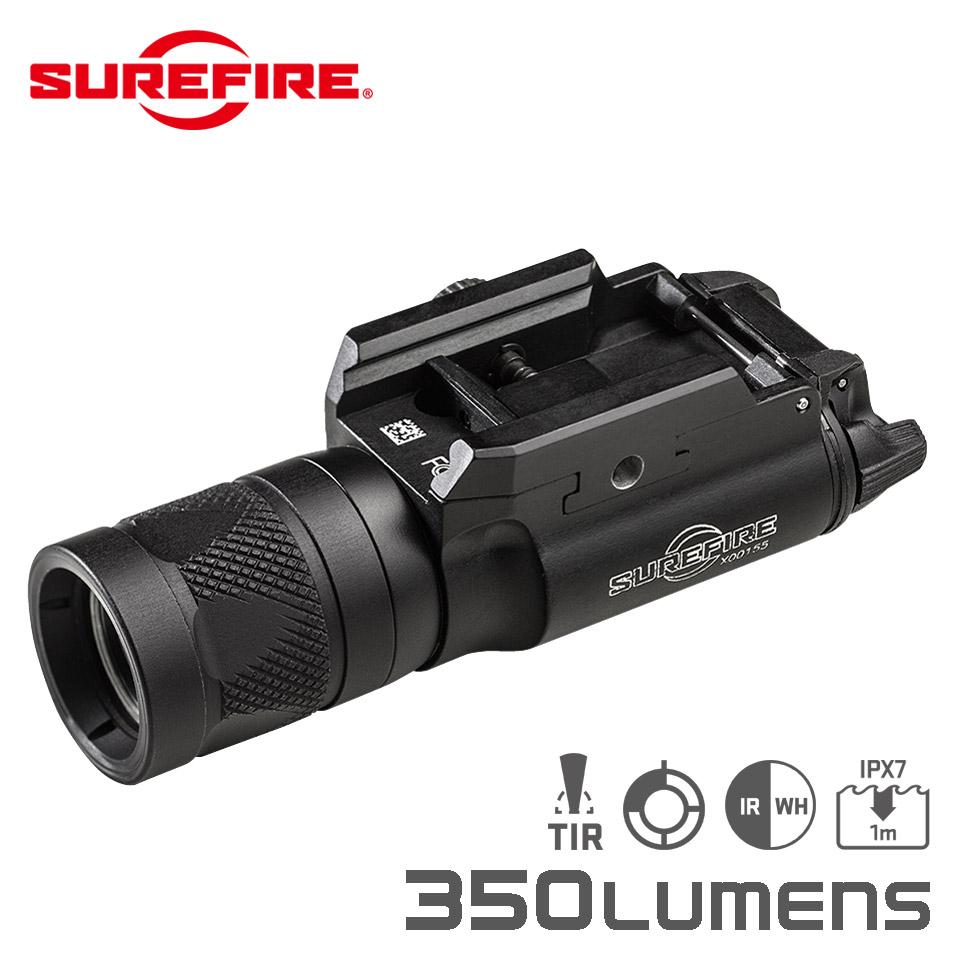 X300V-B WEAPONLIGHT - Infrared / White LED Handgun WeaponLight with T-Slot Mounting System【EAR対象製品】