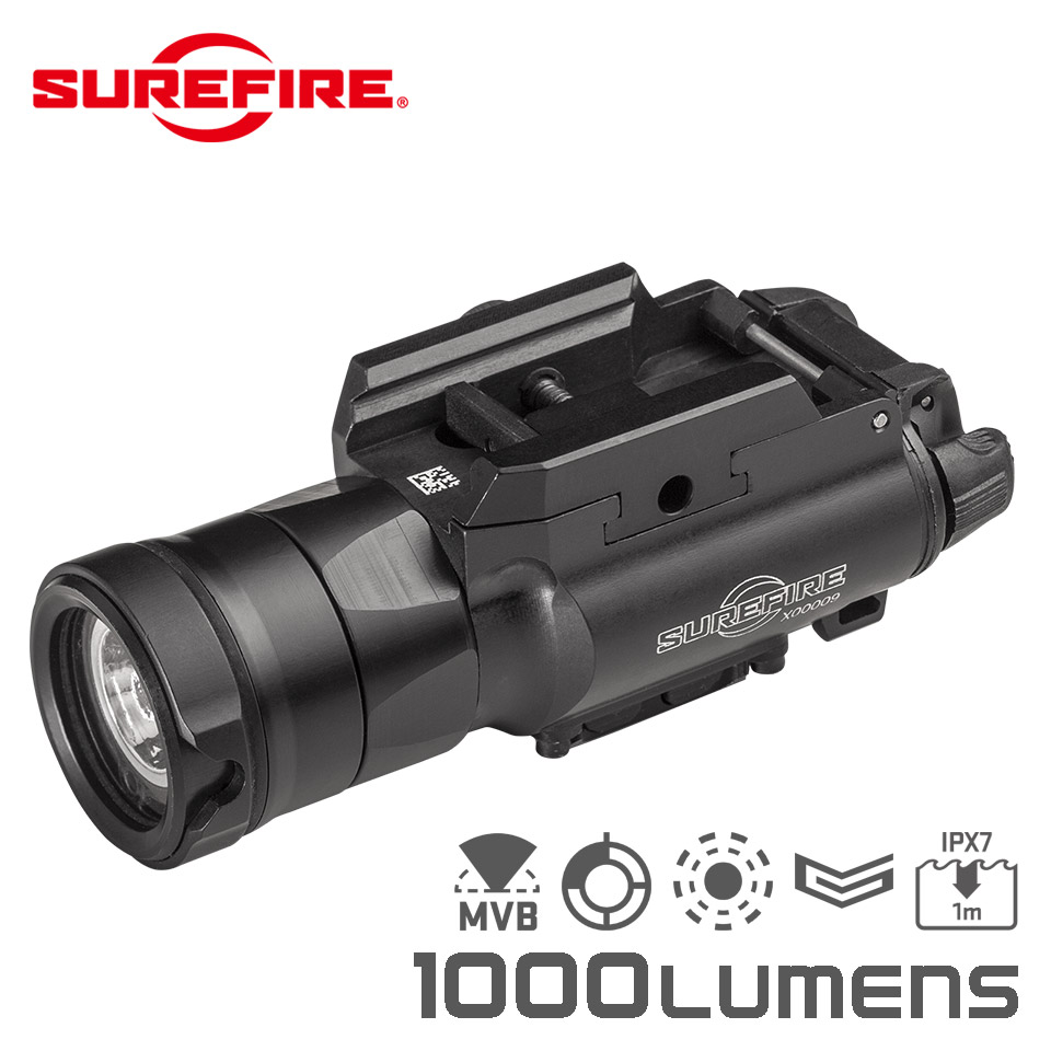 XH35 MASTERFIRE WEAPONLIGHT - Ultra-High Dual Output White LED WeaponLight for Use with MasterFire Rapid Deploy Holster