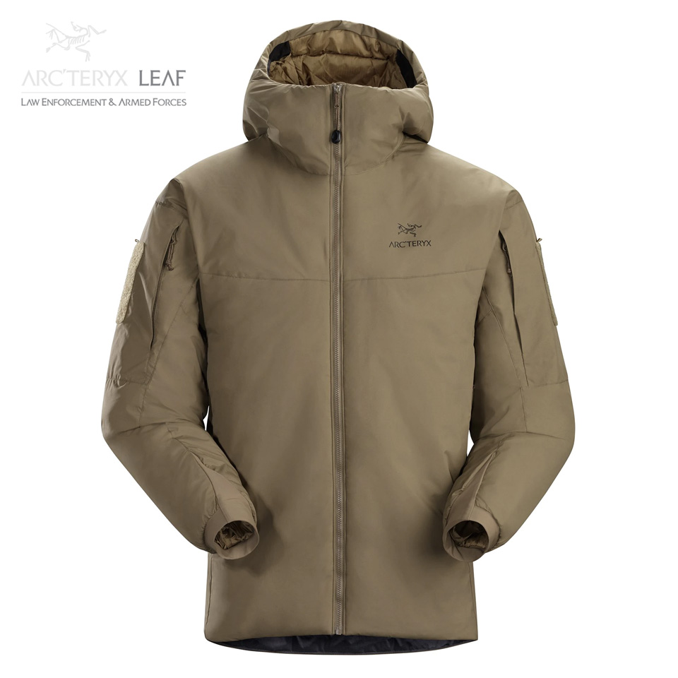COLD WX HOODY LT GEN 2 MEN'S - Crocodile