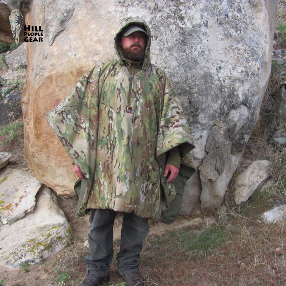 BACKPACKER MOUNTAIN SERAPE - MultiCam / Ranger