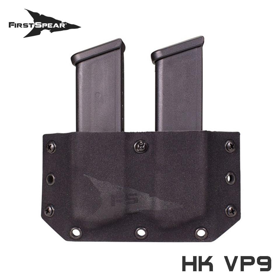 SSV Belt Mounted Double Magazine Pocket, Pistol - HK VP9