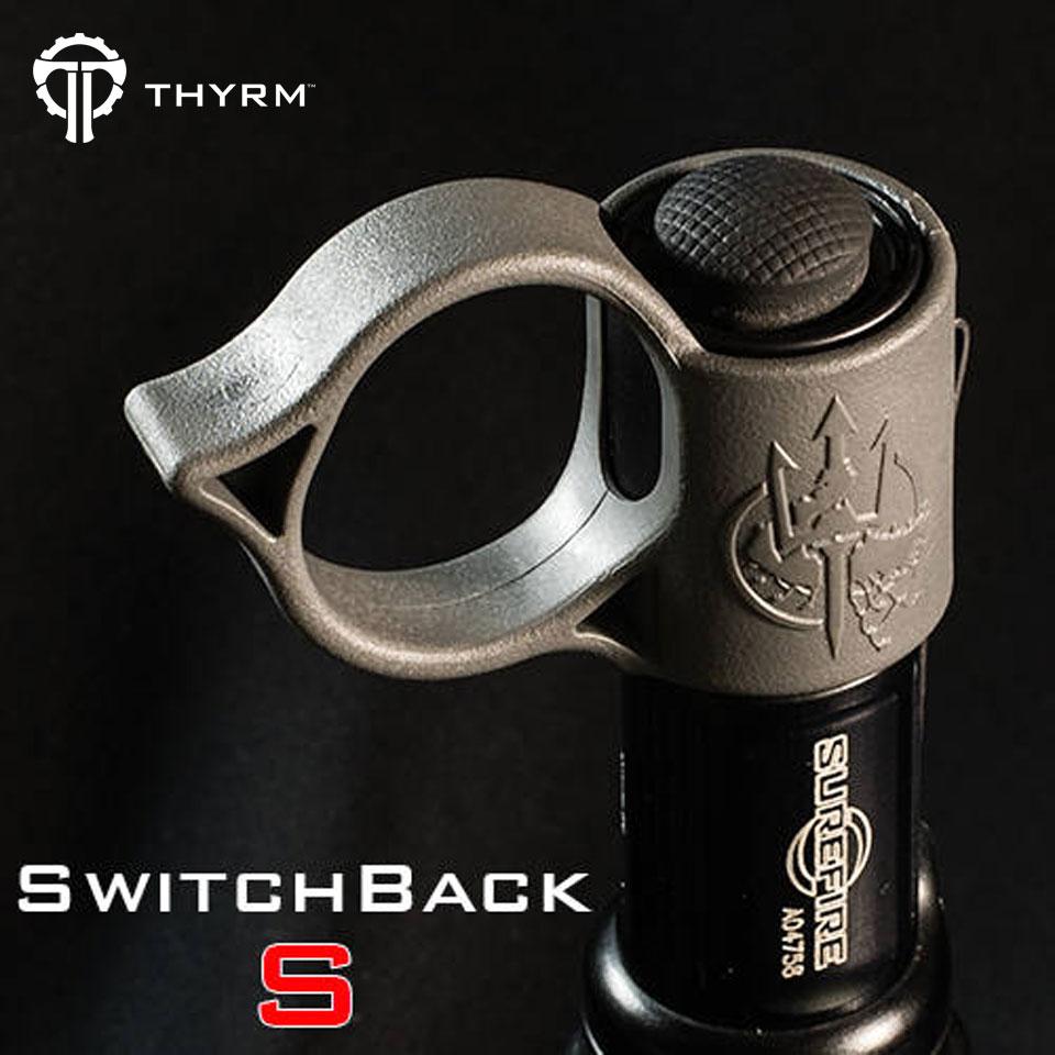 SwitchBack S Backup Flashlight Ring - Black