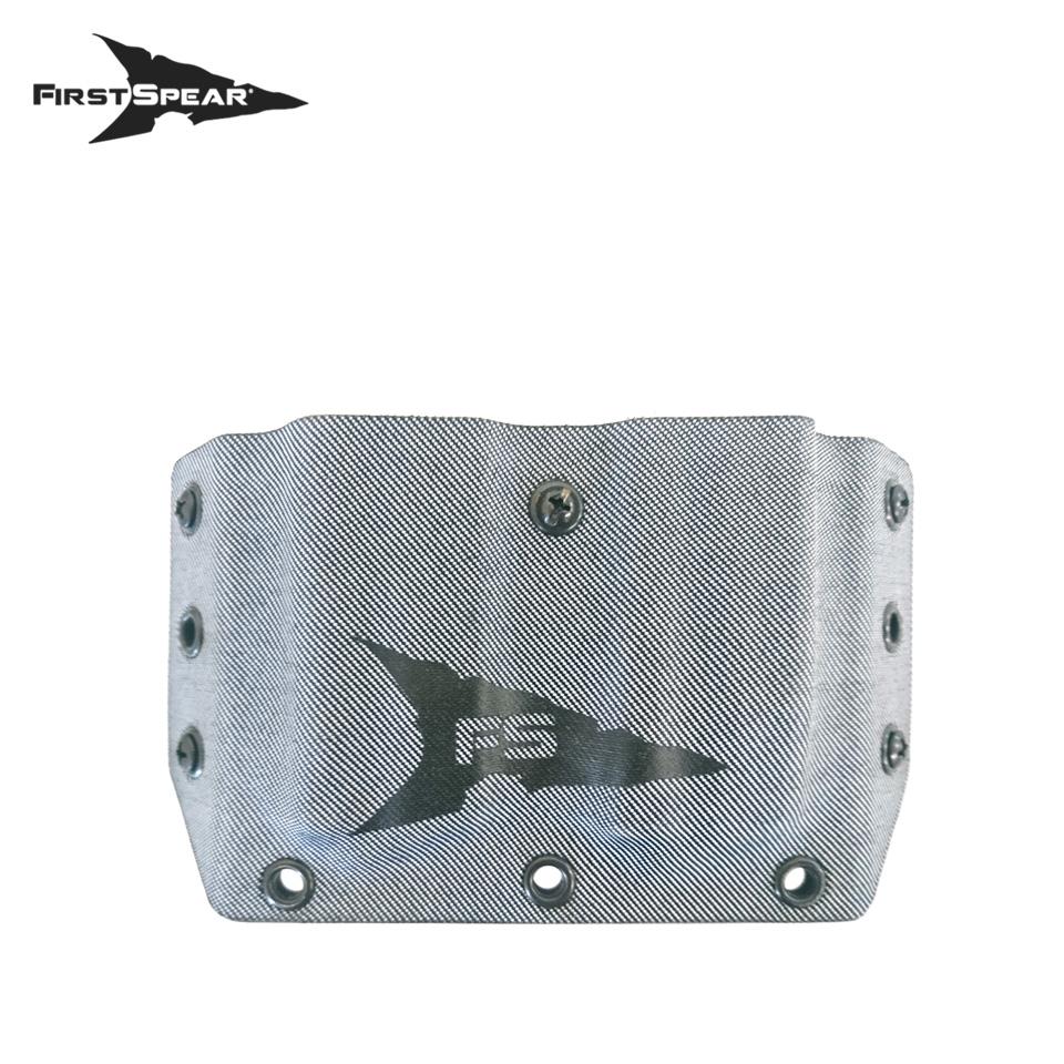 SSV Belt Mounted Double Magazine Pocket, Pistol - Denim Faded