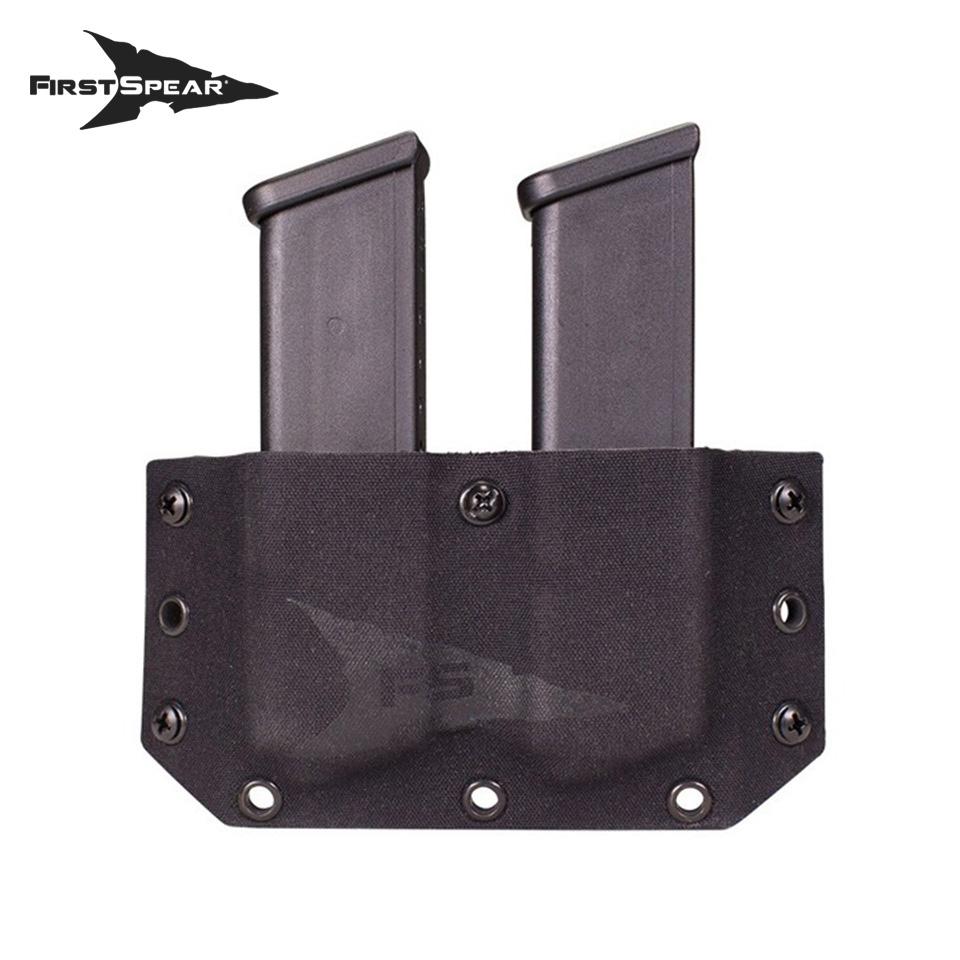 SSV Belt Mounted Double Magazine Pocket, Pistol - Sig P320 / M17