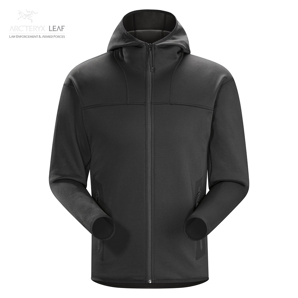 NAGA HOODY FULL ZIP MEN'S - Black