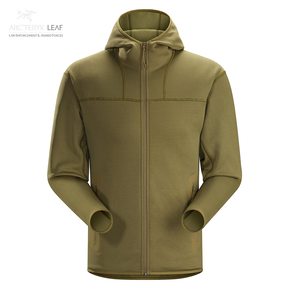 NAGA HOODY FULL ZIP MEN'S - Crocodile