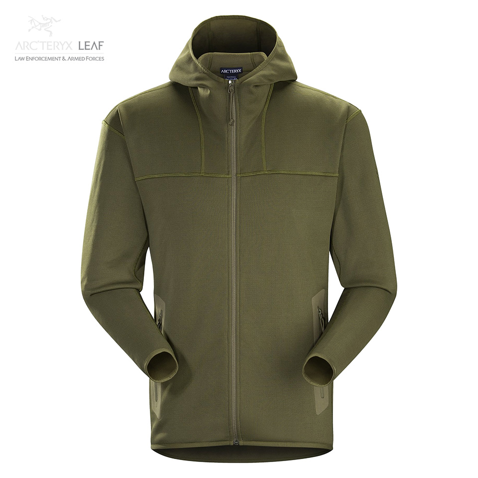 NAGA HOODY FULL ZIP MEN'S - Ranger Green