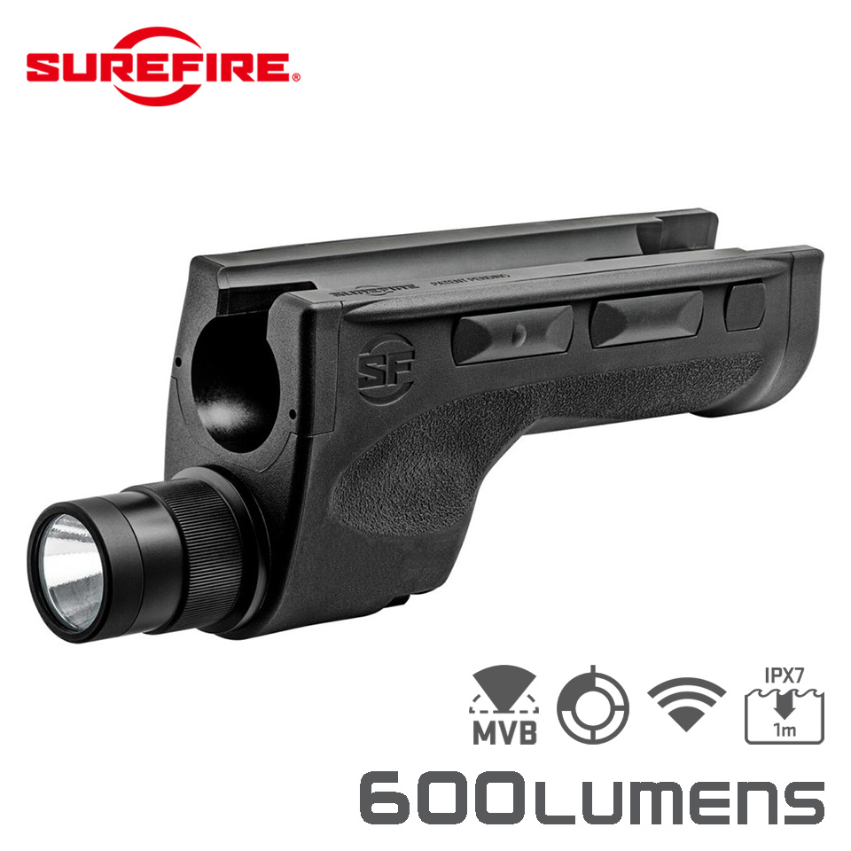 DSF-870 SHOTGUN FOREND WEAPONLIGHT - Ultra-High Dual-Output LED Forend w/ Integrated WeaponLight for Remington 870