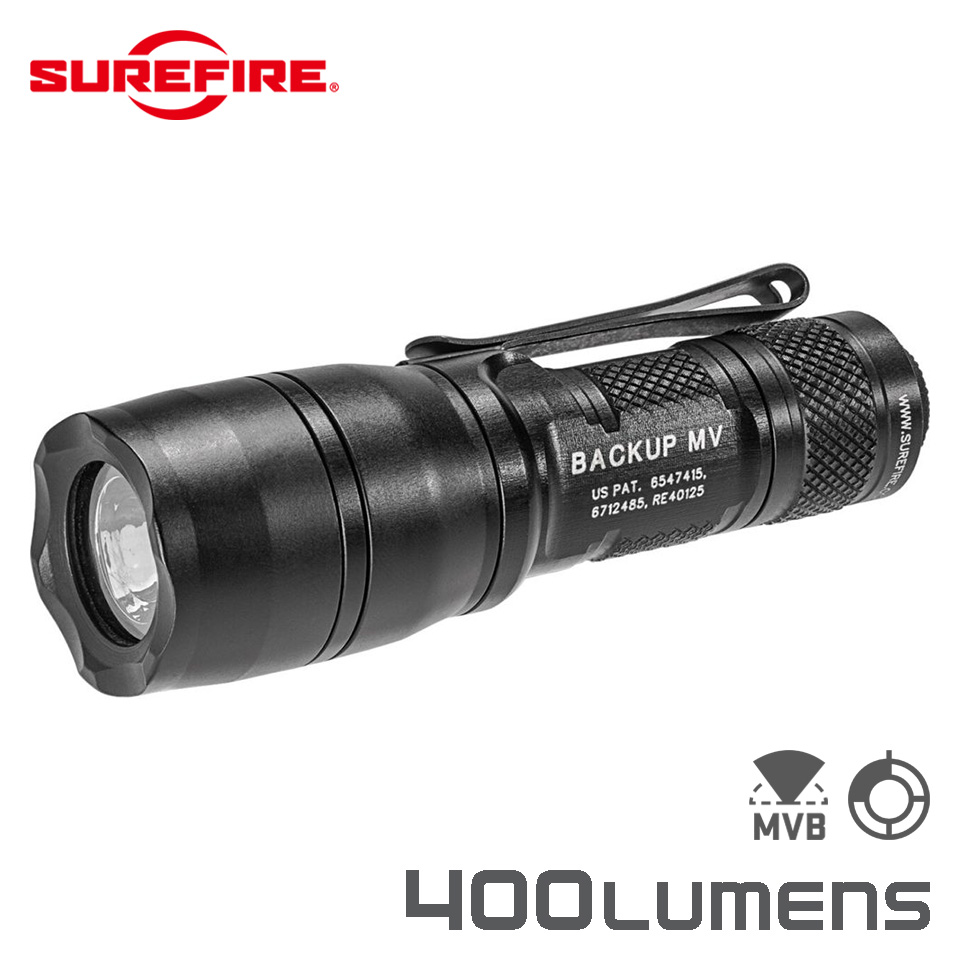E1B BACKUP - Dual-Output MaxVision Beam LED Flashlight
