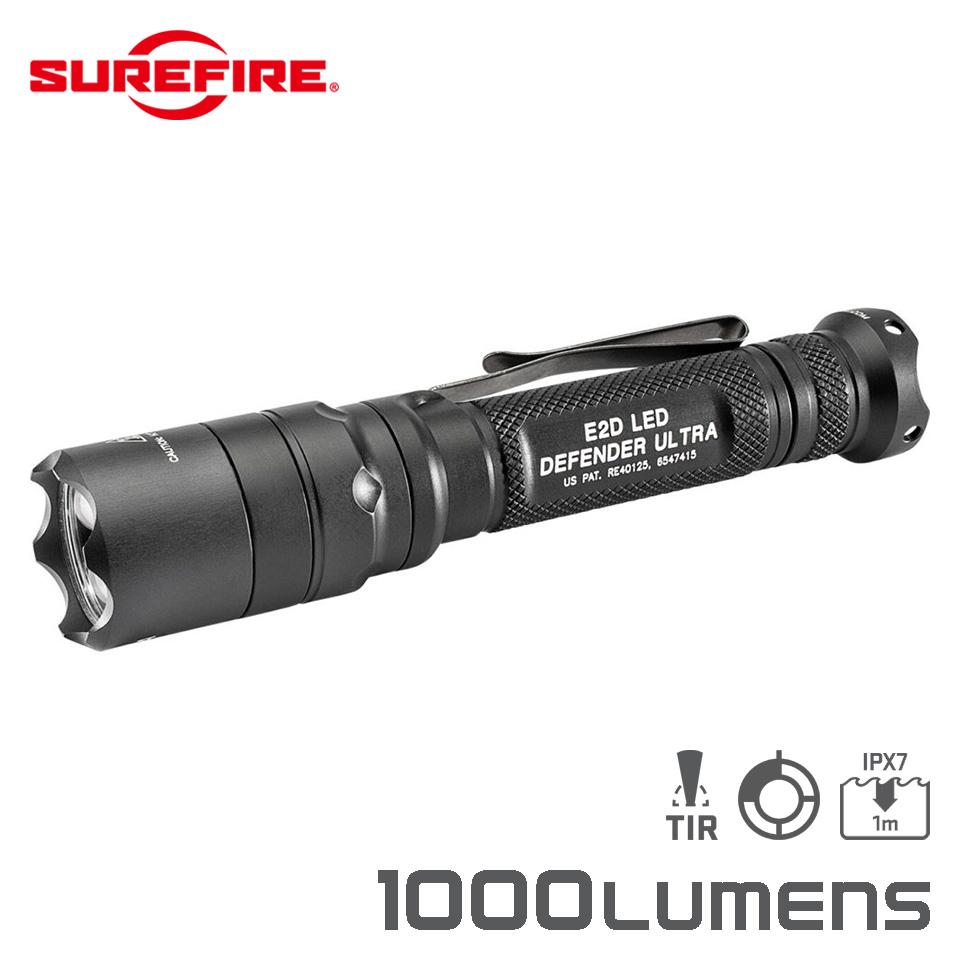 E2D DEFENDER - Dual-Output Led Flashlight