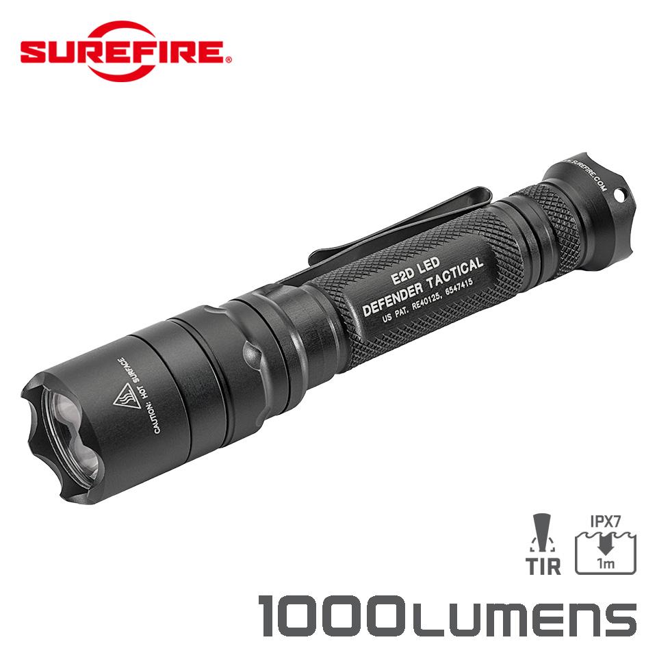 E2D DEFENDER TACTICAL - Single-Output Led Flashlight