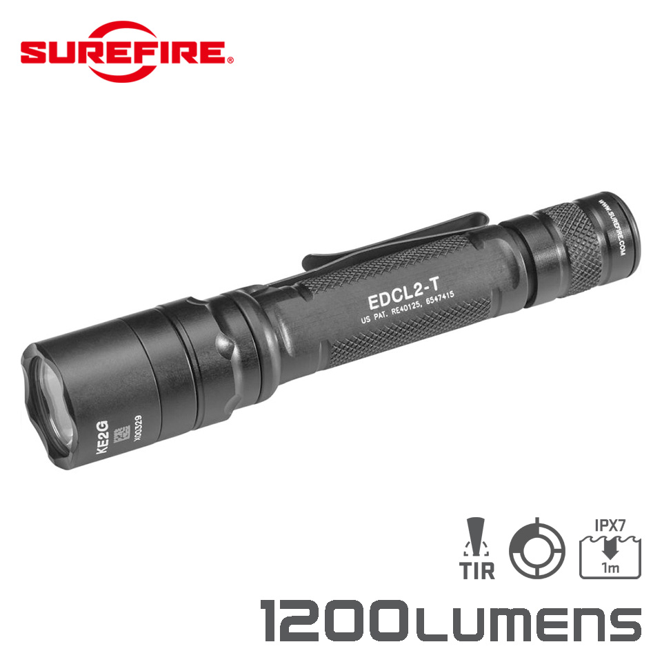 EDCL2-T - Dual-Output LED Everyday Carry Flashlight