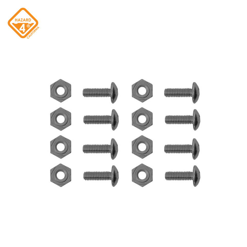 HardPoint Screw and Nut Set - pack of 8