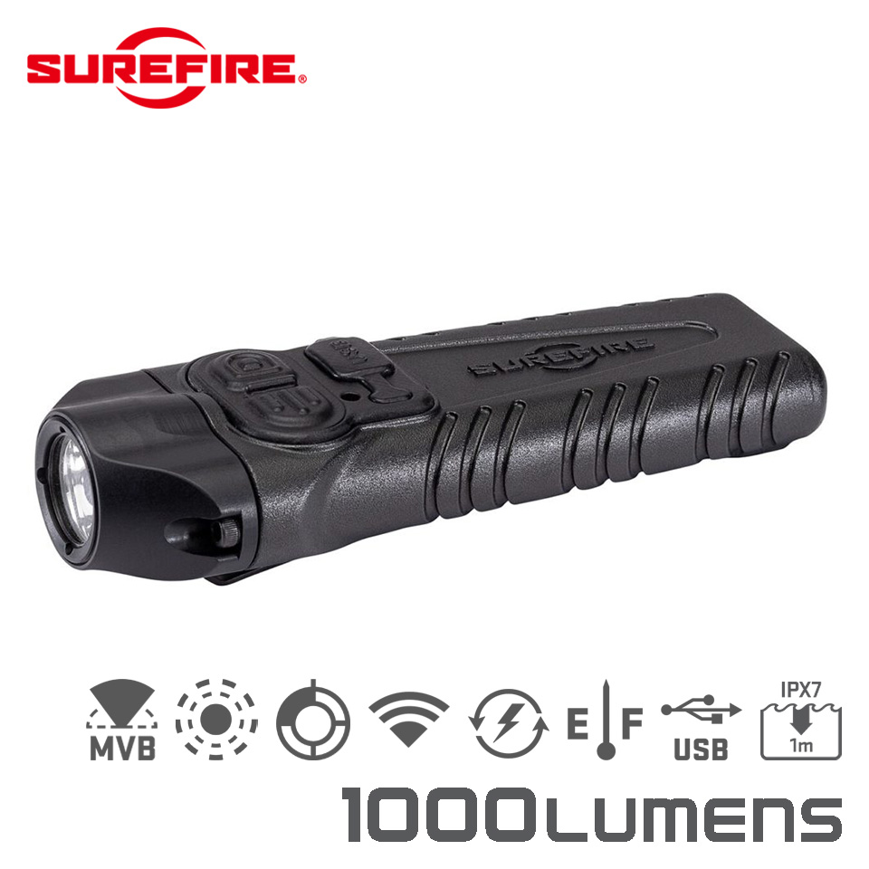 STILETTO PRO - Multi-Output Rechargeable Pocket LED Flashlight