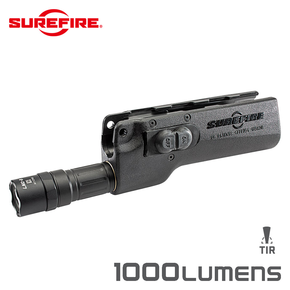 628LMF-B FOREND WEAPONLIGHT - High-Output LED Forend WeaponLight for H&K MP5, HK53 & HK94