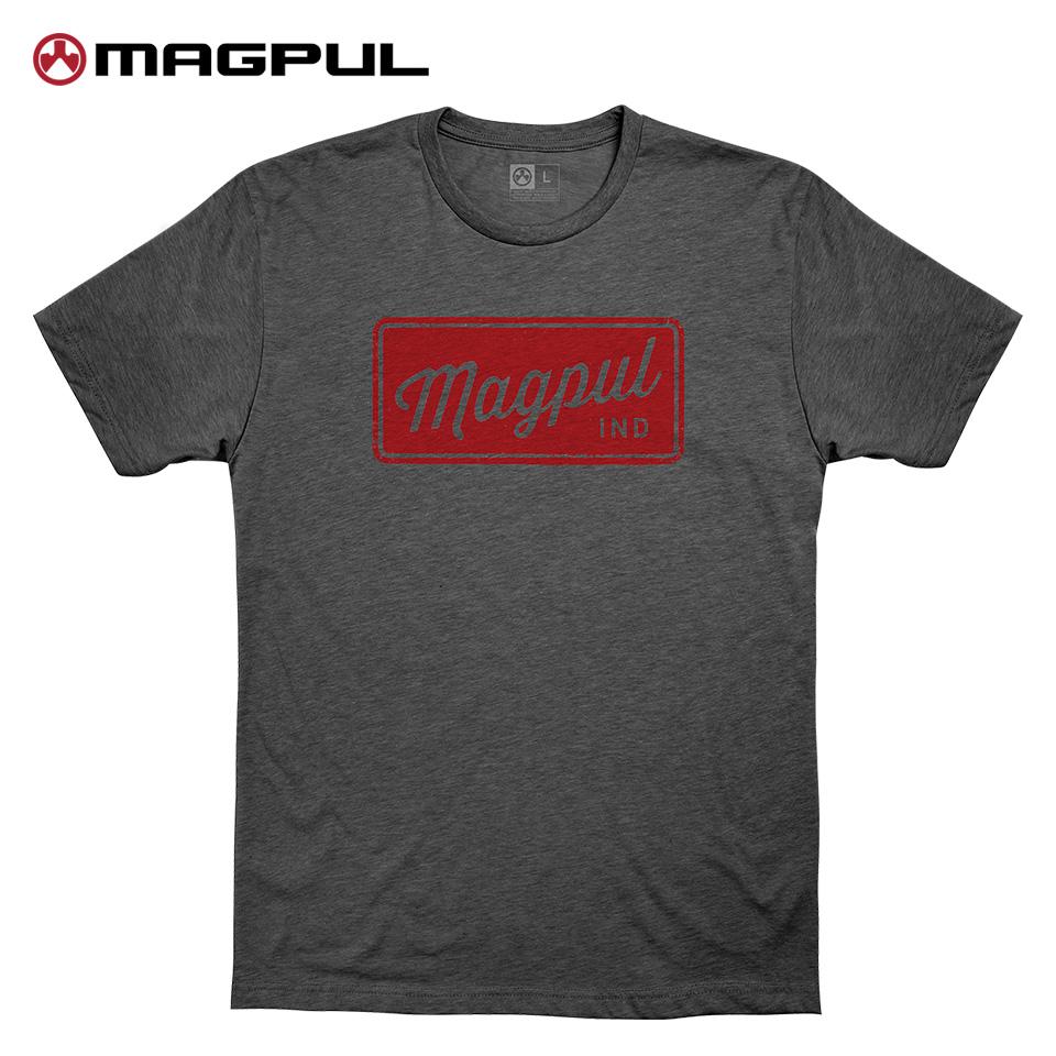 Magpul Rover Block CVC T-Shirt - Charcoal Heather / S
