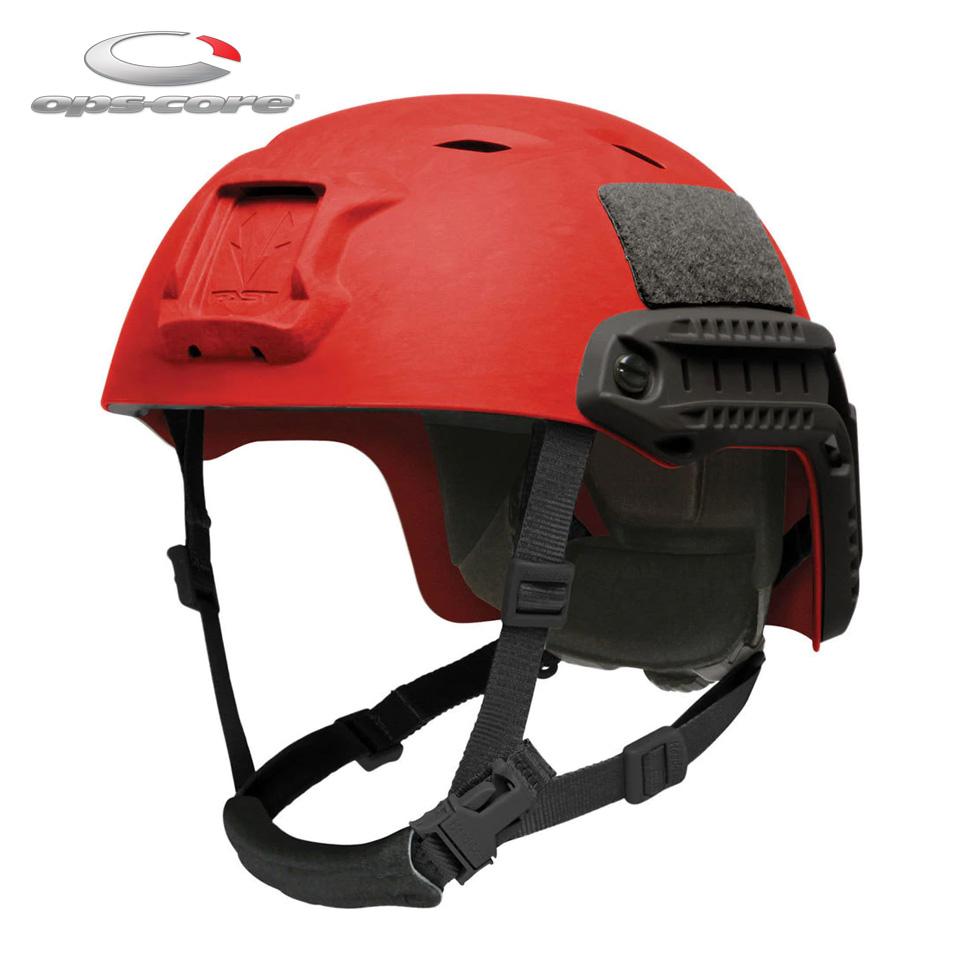 FAST BUMP HIGH CUT HELMET - RED / XL(L/XL)【EAR対象製品】