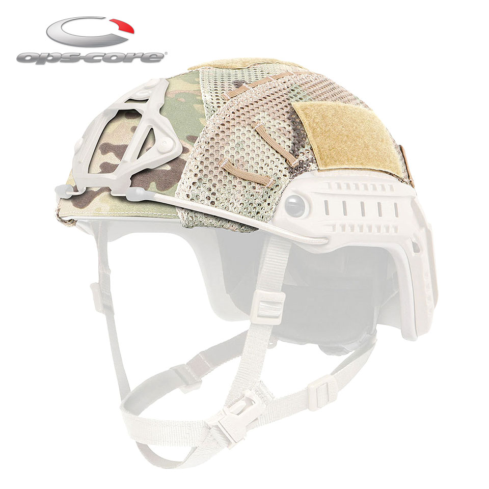 MESH HELMET COVER - FAST HIGH CUT(BUMP / CARBON) / M(S/M)【EAR対象製品】