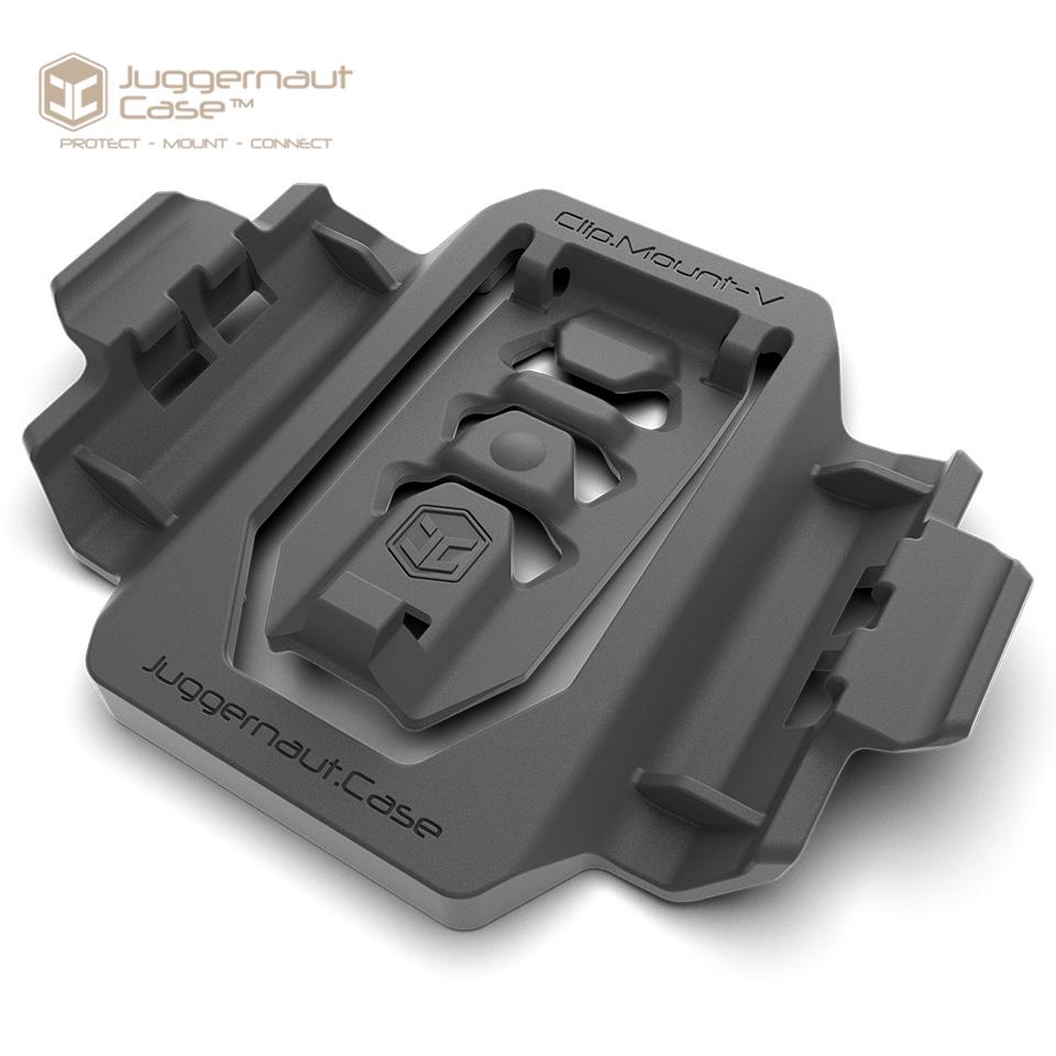 Clip.Mount - Universal Strap, Backpack, Belt Phone Mount Horizontal / Vertical