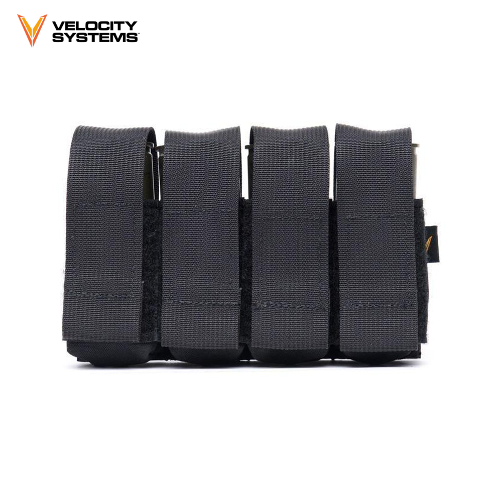 Velocity Systems Velcro 40mm/Flash Bang Pouch - Wolf Grey