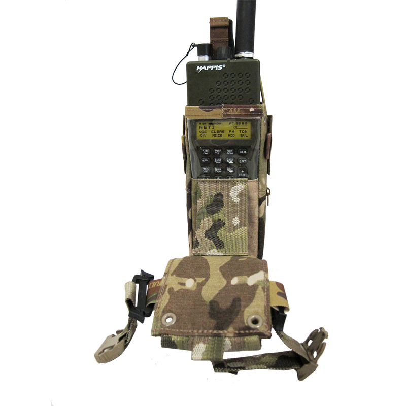 Multi-Access Radio Mission Pouch for AN/PRC-152, 6/9