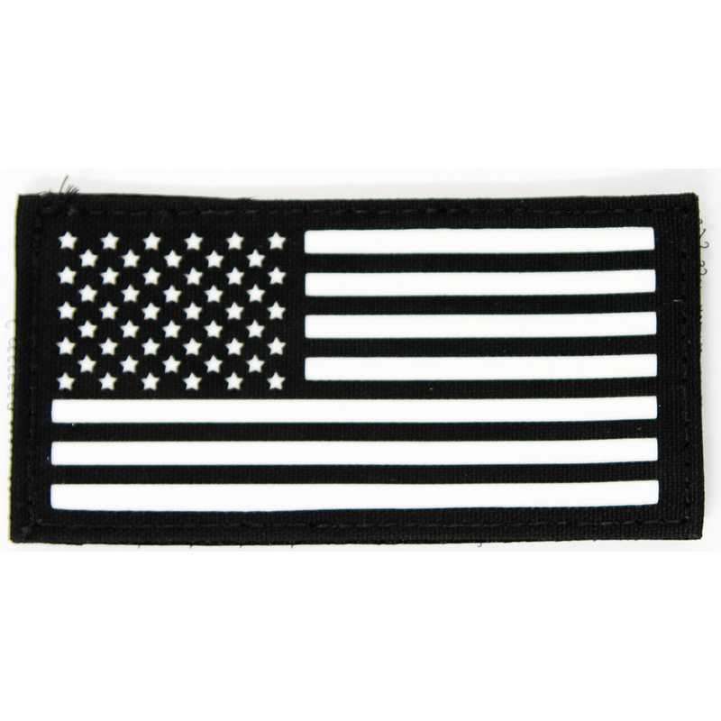"Cell Tag IFF Patch 2.x4"" American Flag Standard"