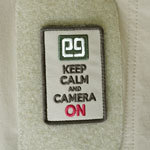 KEEP CALM AND CAMERA ON PATCH