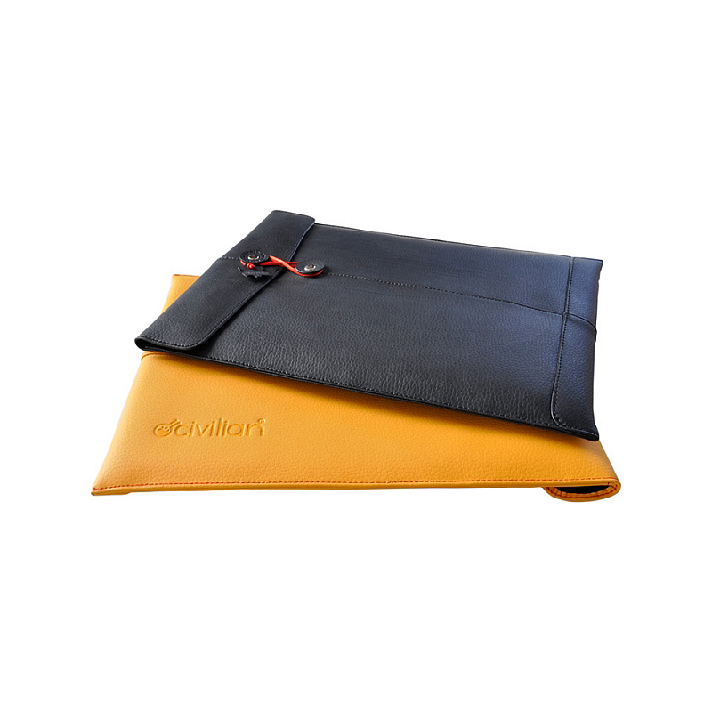 Pro-Manila-15 leather laptop sleeve for MacBook Pro 15""