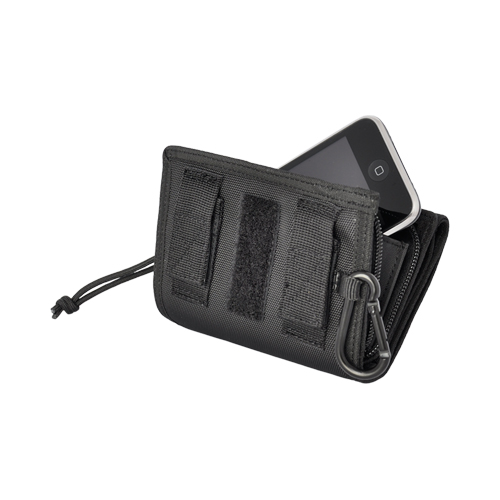 i-wallet i-phone ケース BK