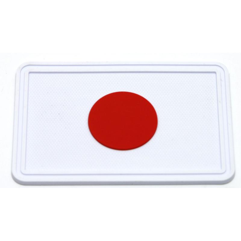 日の丸パッチ 白/赤