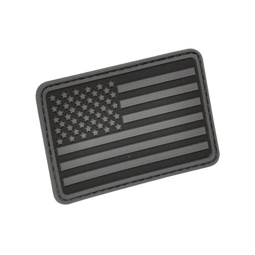 USA Flag (Left Arm) Rubber 3D Velcro Morale Patch