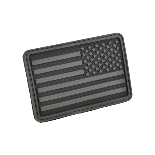 USA Flag (Right Arm) Rubber Velcro Patch